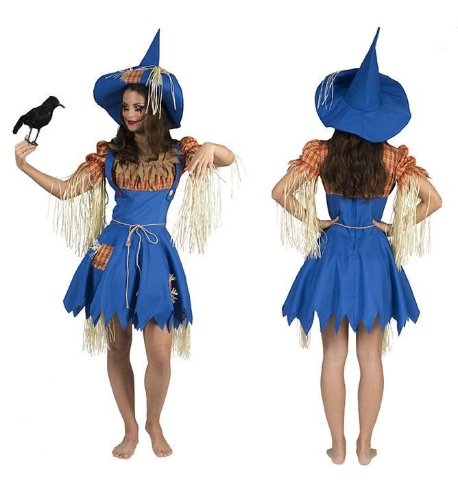 Vogelverschrikker kostuum dames