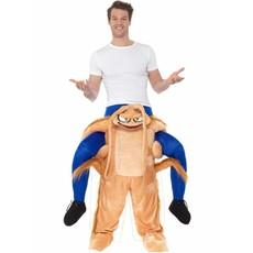 Gedragen door Kakkerlak kostuum