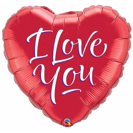I Love You - Hart Ballon 46cm