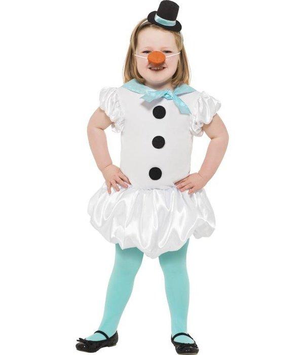 Cuty sneeuwpop meisje
