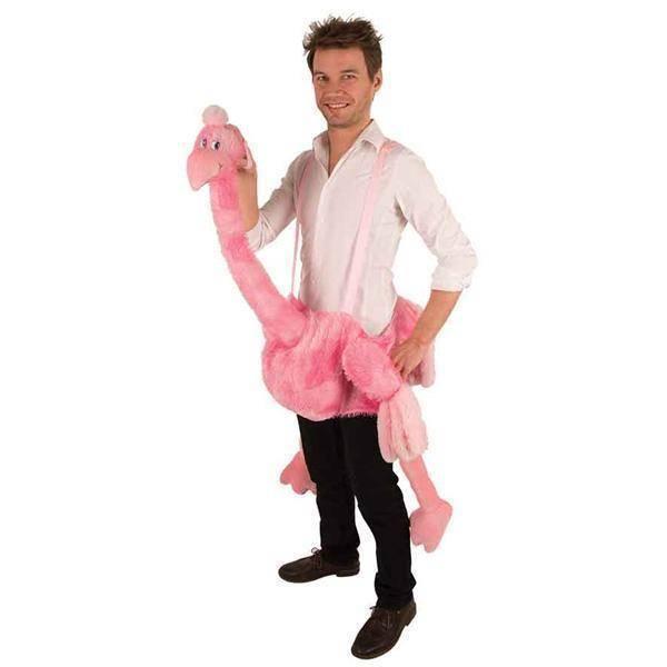Draag mij pak struisvogel