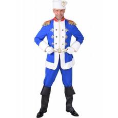 Kozak Kostuum Heer Blauw