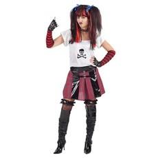 Punker Kostuum Vrouw