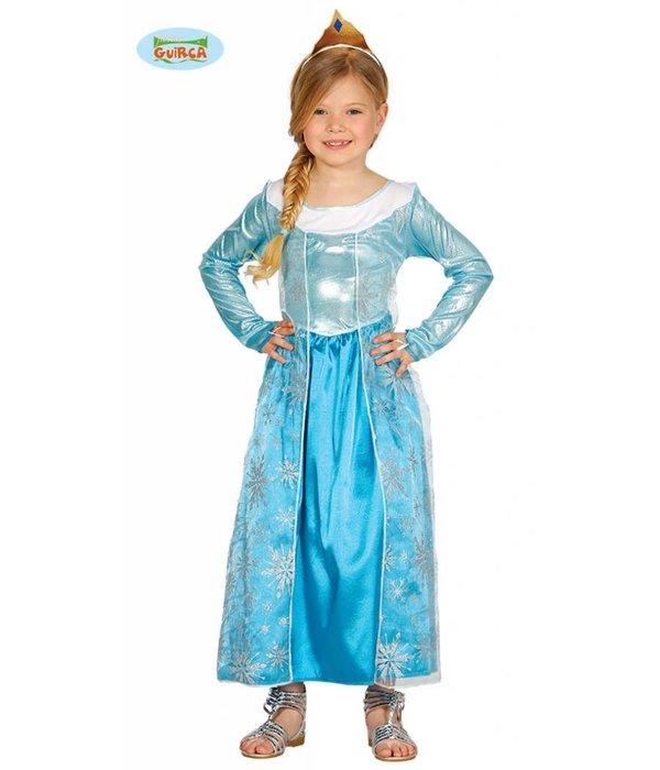Ijsprinses kostuum kind