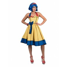 Cartoon Rock 'n Roll jurk