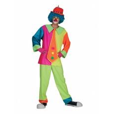 Silly Billy clownskostuum neon