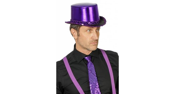 Paarse hoed
