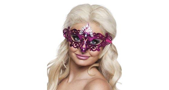 Paars masker
