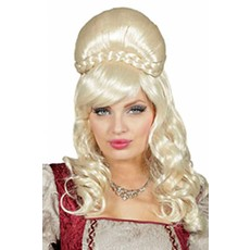 Jonkvrouw pruik blond