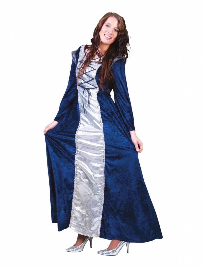 Jonkvrouw kostuum middeleeuwen