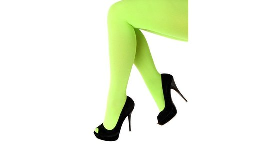 Groene legging - panty - kousen