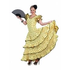 Flamenco Jurk Spaans Geel