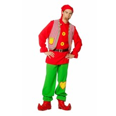 Kabouter Carnaval kostuum heren