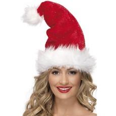 Rode kerstmuts luxe
