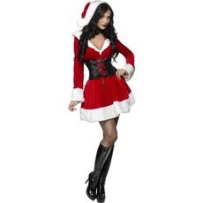 Sexy hooded kerstpakje