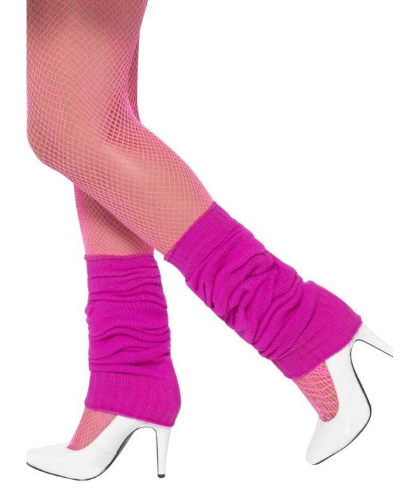 Beenwarmers hot pink