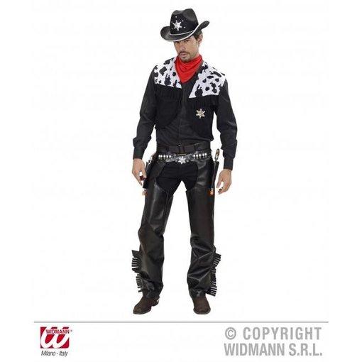Cowboy Billy kostuum zwart
