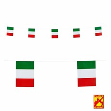 Papieren Vlaggenlijn Italië 6 meter