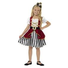 Deluxe piraten kostuum meisje