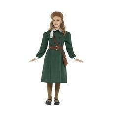 Jaren 30 Oorlog kostuum meisje