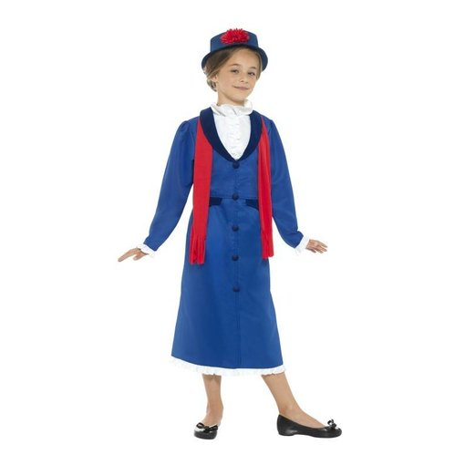 Victoriaans kindermeisje outfit