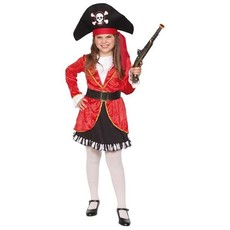 Kapitein/Piraat kostuum meisje