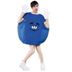 Emoji kleding Snoepje blauw