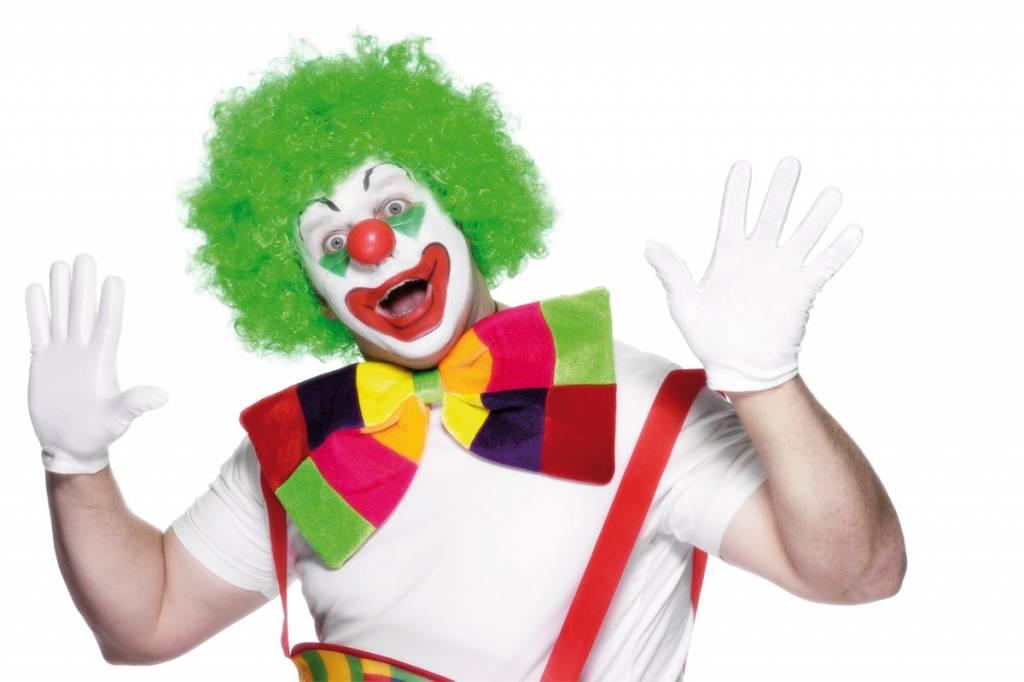 Clown strik groot