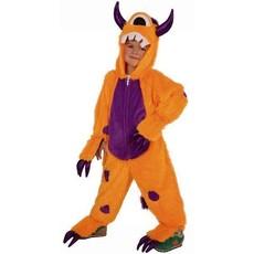 Oranje monster pakje kind