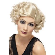 20's Charleston pruik blond