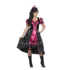 Saloon girl kostuum plus size