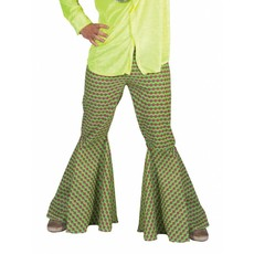 Groene hippie broek man