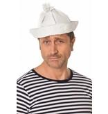 Matrozen hoedje wit