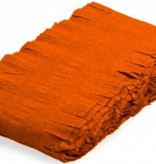 Oranje Crepe Papier Slinger 24 meter