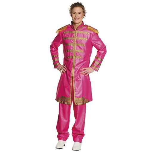Pop Sergeant pepper kostuum roze