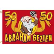 Abraham vlag 90 x 60 cm
