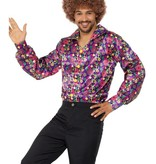 Jaren 60 hippie blouse man