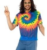 1960's Tie Dye shirt man
