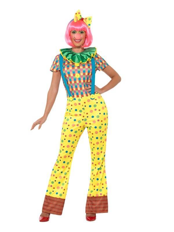 clown kostuum vrouw