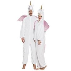 Eenhoorn kostuum man/vrouw pluche