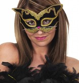 Masker Kat luxe zwart