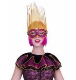 Pink circus kraag