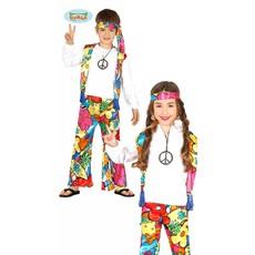 Hippie peace kostuum kind