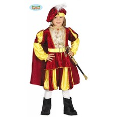 Rode prins kostuum kind