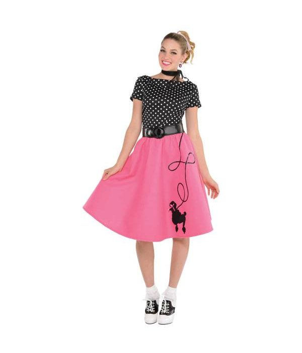 50's jurk met poedel