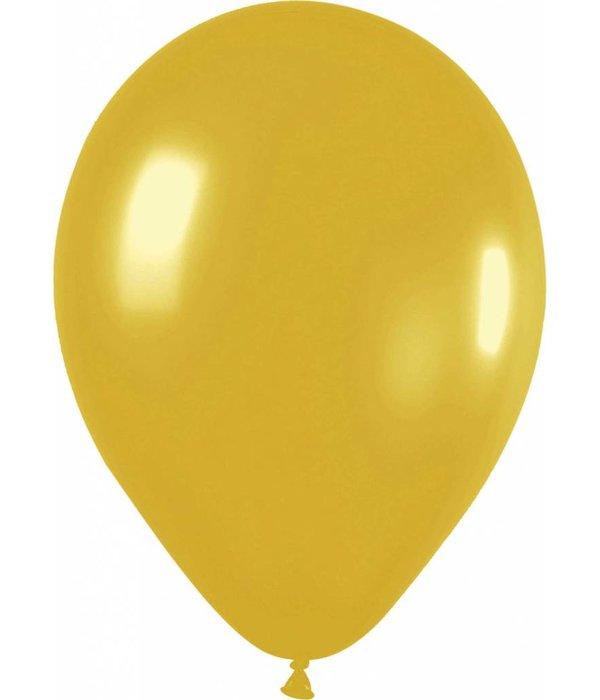 Gouden Ballonnen 30cm 10st