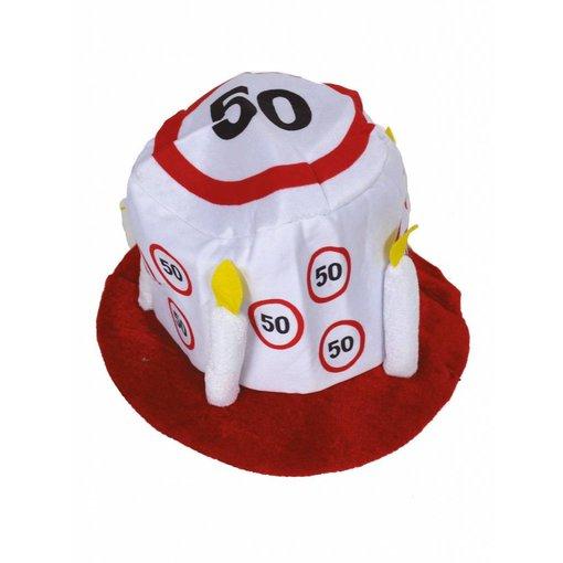 Hoed 50 jaar verkeersbord