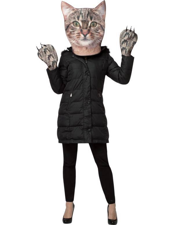 Kat Masker + Pootjes