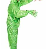 Groene Alien pak