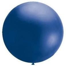 Mega Ballon blauw 90 cm
